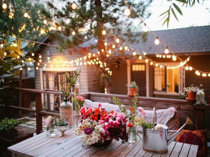 fotos verano primavera terraza romantica ideas