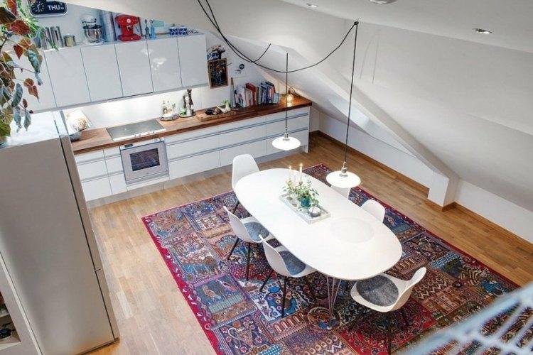 frescas salas espaciosas lunares lineas