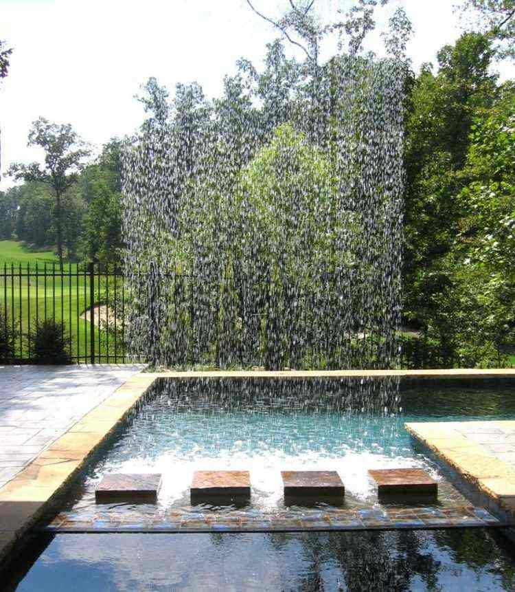 fuente diseno moderno agua atractiva opcion ideas
