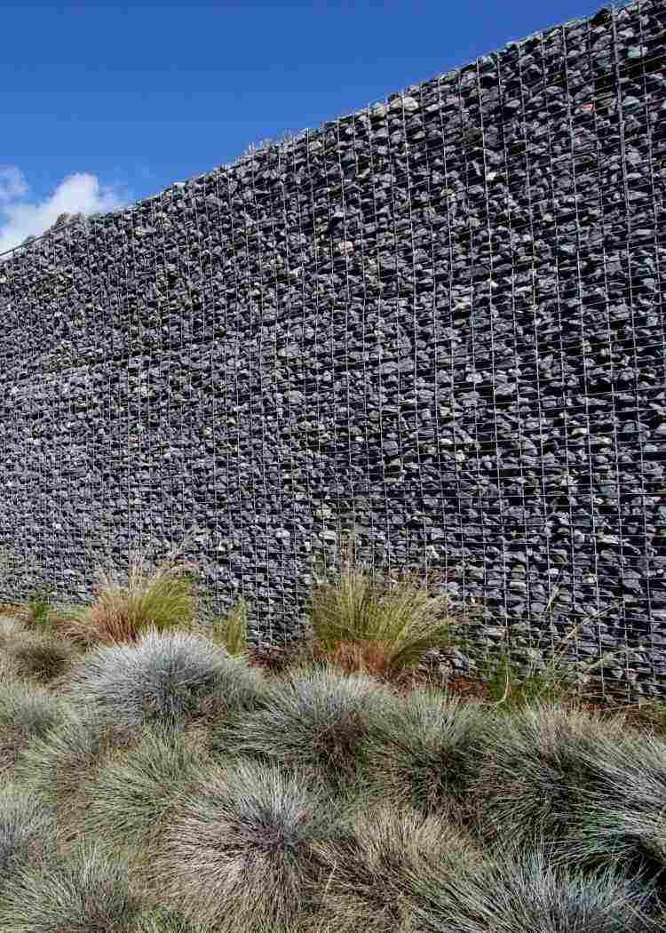 gabion modern design fence garden