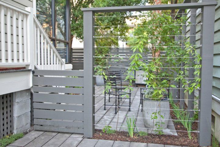 grises paredes estilos zonas balcones mantillo