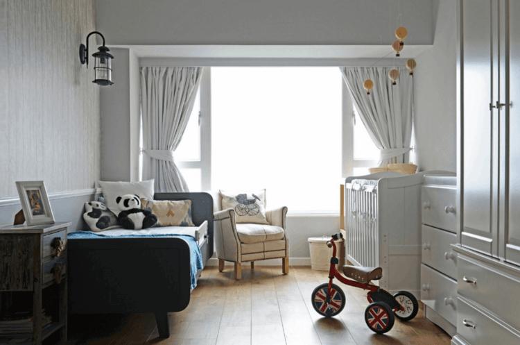 habitación bebé diseño moderno