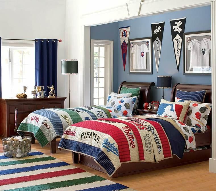 Camas infantiles 50 dormitorios modernos - Dormitorio para dos ninos ...