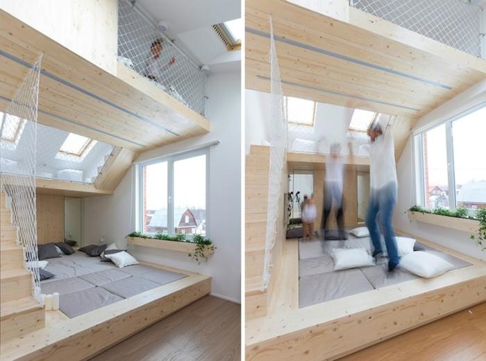 habitaciones creatividad puentes salas maderas