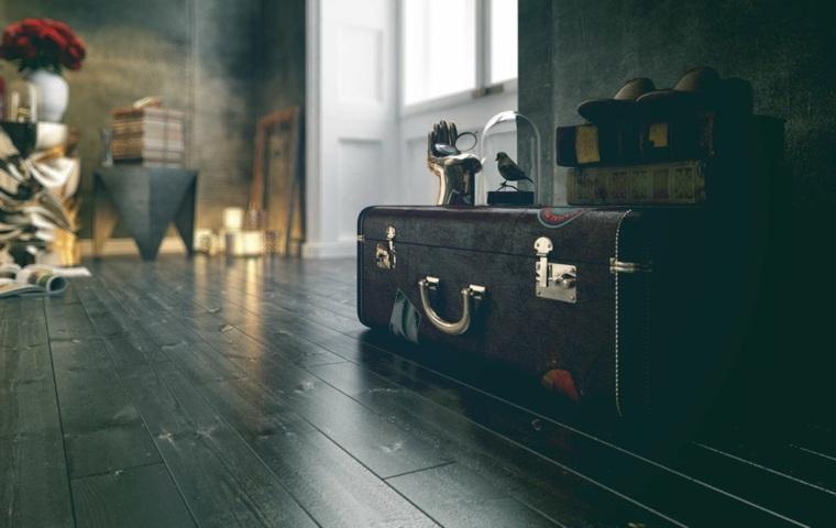 harun kaymaz habitacion 47 maleta vintage