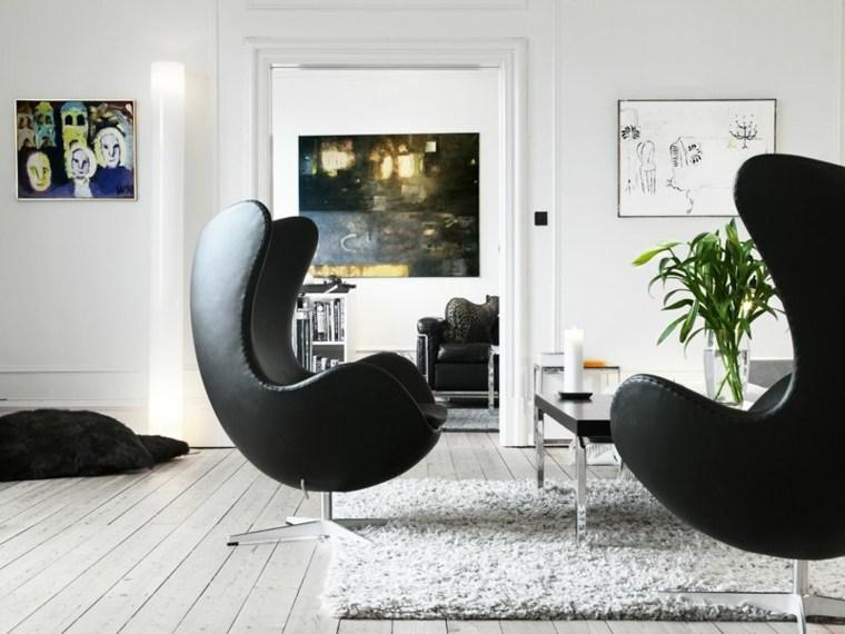 iconos mobiliario cuero color cuadros