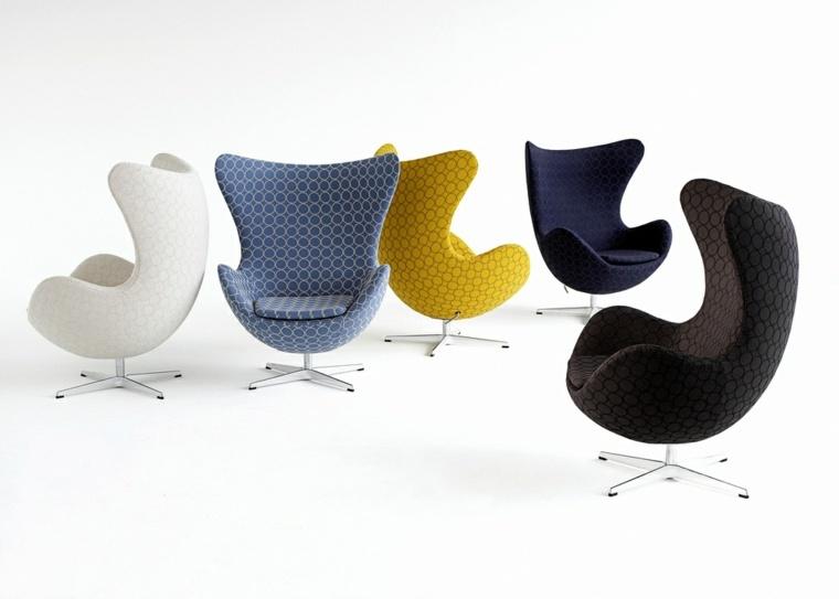 iconos sillas estilos muebles salones