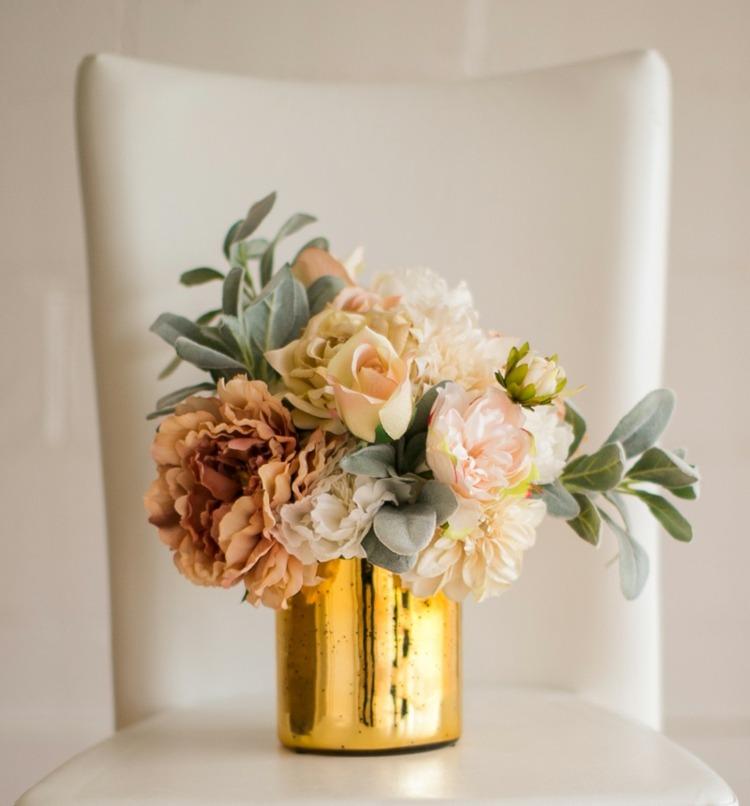 ideas decorativas manialidades flores