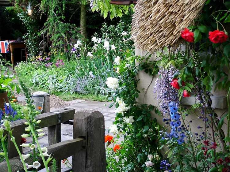 Decorar jardines rusticos ideas decorativas con piedra y for Jardines rusticos fotos