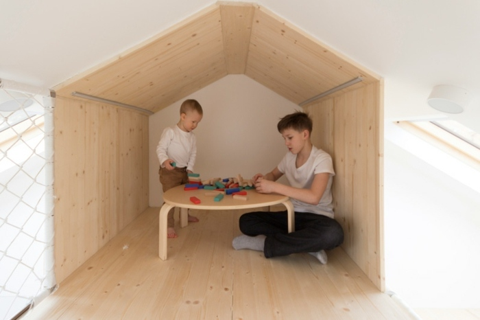 ideas juegos salones puentes maderas