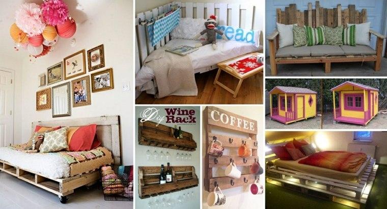 ideas para muebles diy palet
