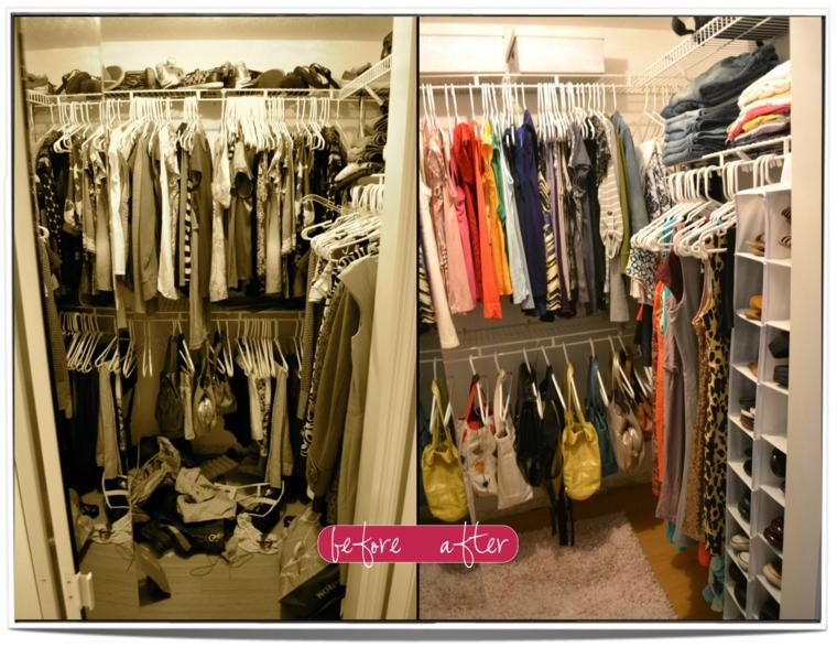 Como organizar un armario 50 ideas tiles y pr cticas - Ideas para armarios ...