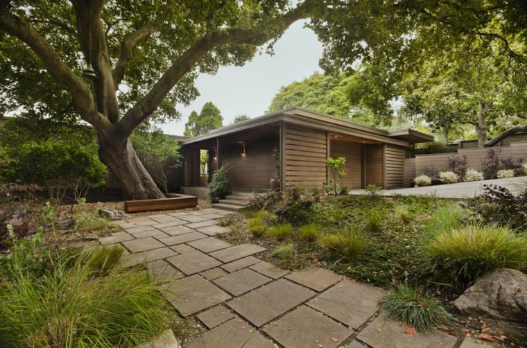ideas originales jardines modernos