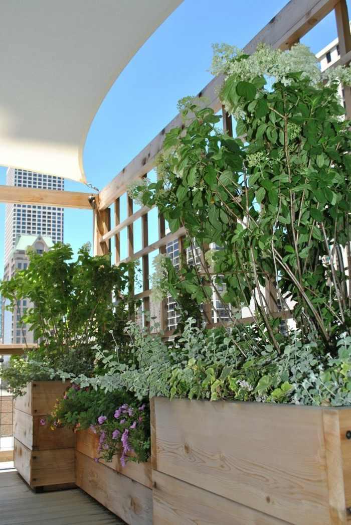 ideas plantas macetreros colores trenzados muebles