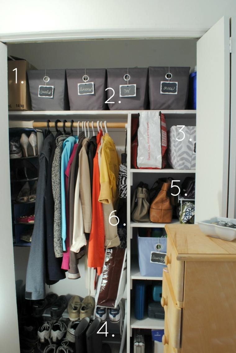 ideas formas organizar un armario