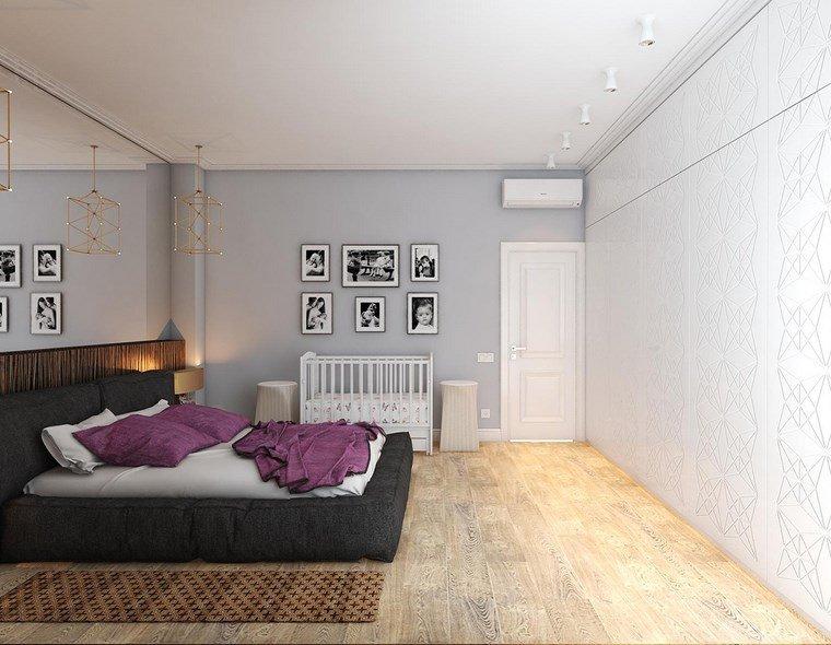 iluminacion led opciones interiores dormitorio paredes blancas ideas