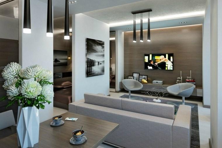 iluminacion led opciones interiores espacio abierto ideas