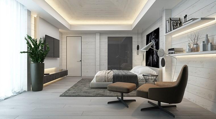 iluminacion led opciones interiores maceta grande dormitorio ideas
