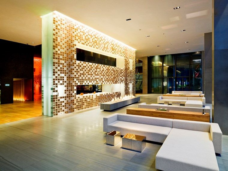 Luz LED -100 interiores con diseño espectacular - photo#25
