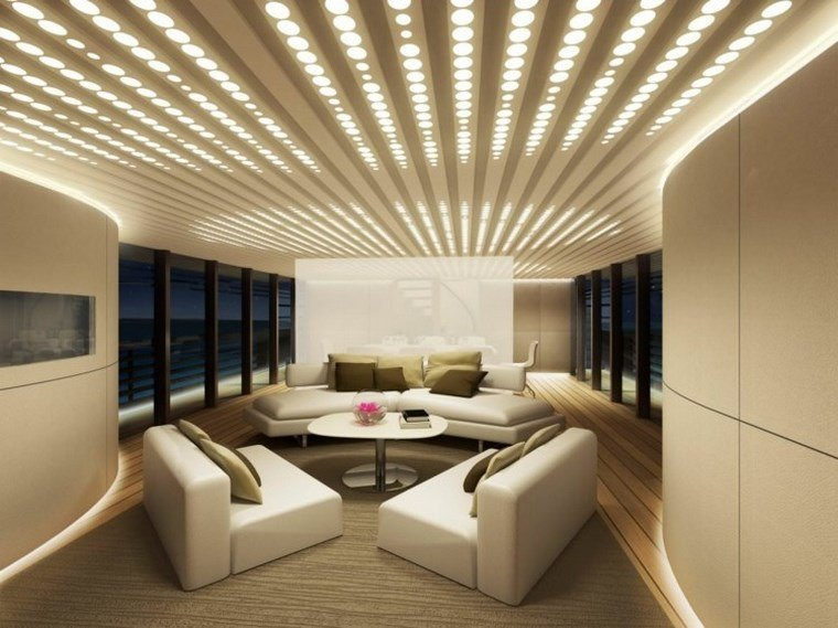 Luz led  100 interiores con diseño espectacular