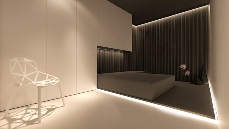 iluminacion led opciones interiores suelo madera ideas