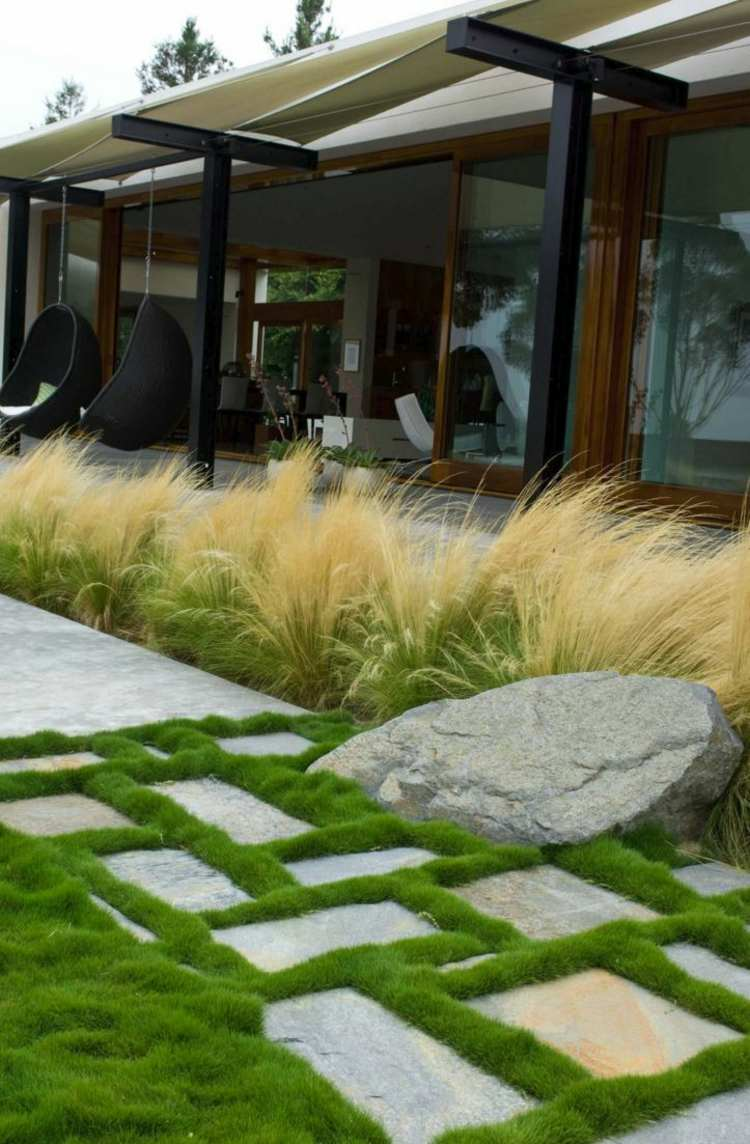 imagenes de paisajes jardín patio