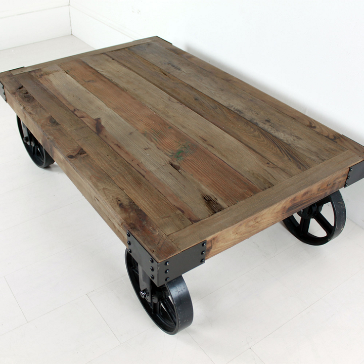Ikea Metal Coffee Table Wheels: Mobiliario Ruedas Y Creatividad En 75 Modelos Funcionales