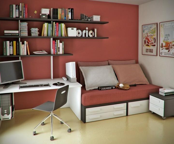 infantiles espacios trabajo muebles estantes
