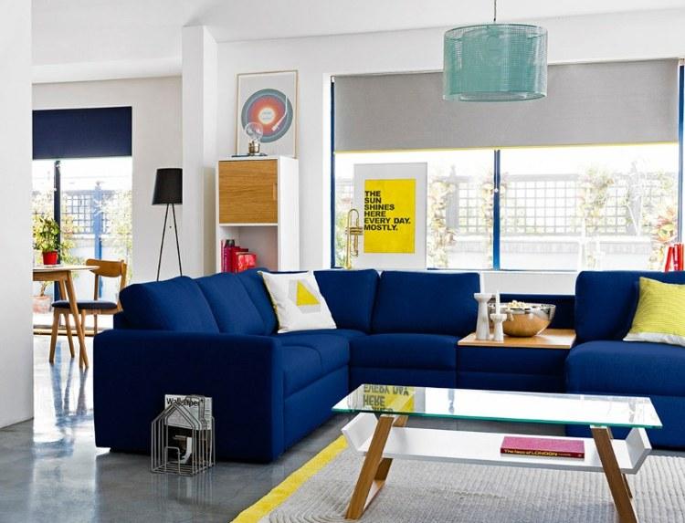 intensos valores azules colores muestras amarillos
