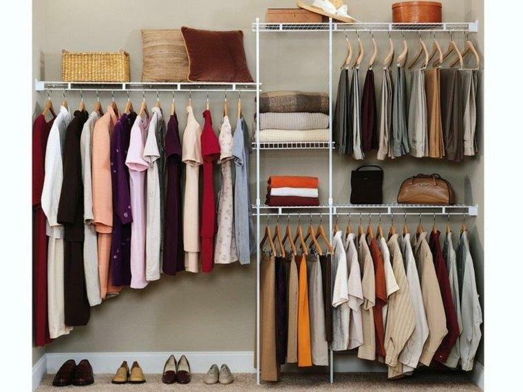 interior armario diseño estilo moderno