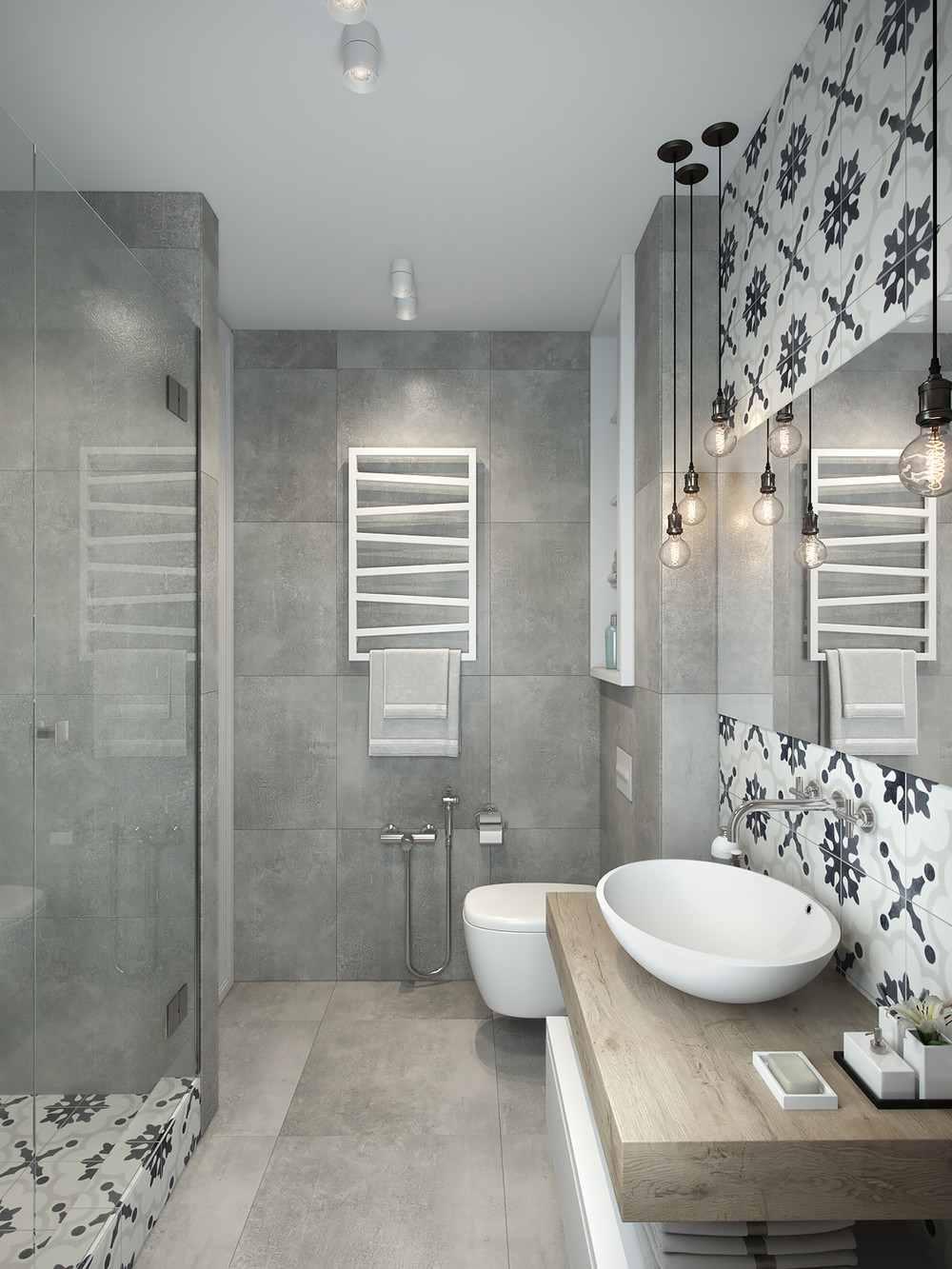decoracion de apartamentos pequeños baños