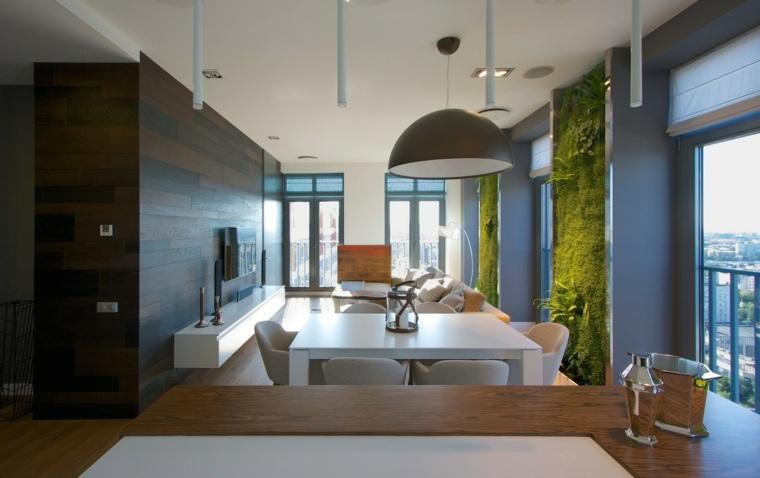 interior estilo lujoso moderno verde