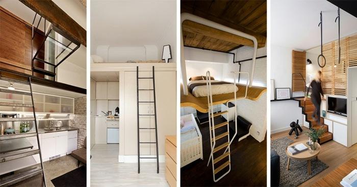 Loft de diseño moderno - nueve modelos asombrosos -