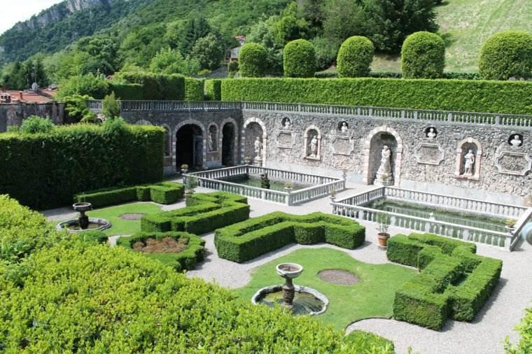 jardin clasico renacimiento figuras opciones ideas