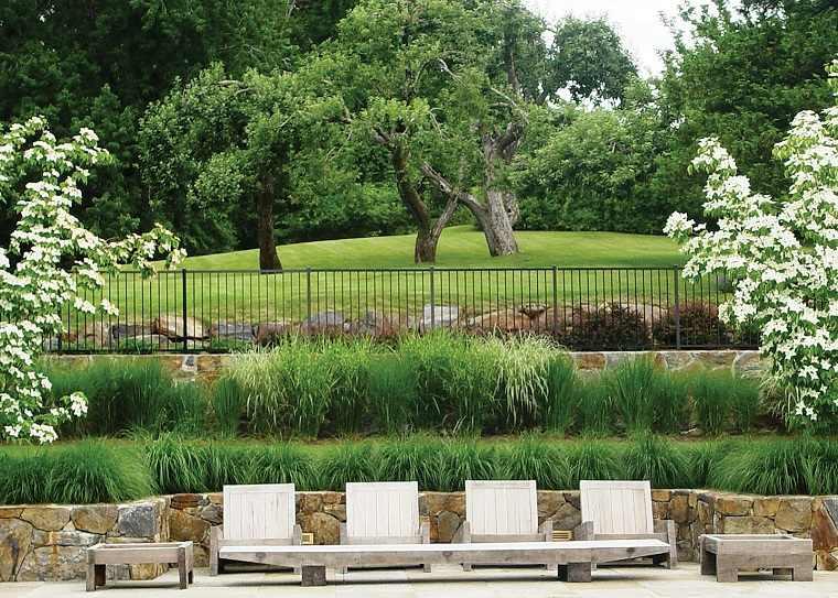 jardin clasico terrazas plantas ideas