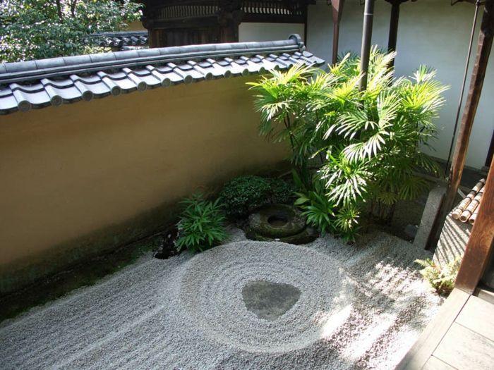 jardin zen detalles estilos muestras rocas