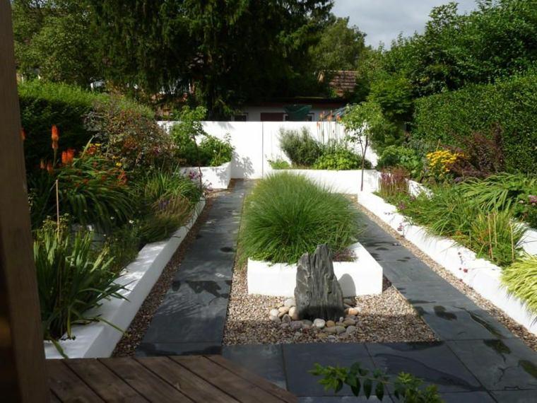 jardin pequeño diseño zen