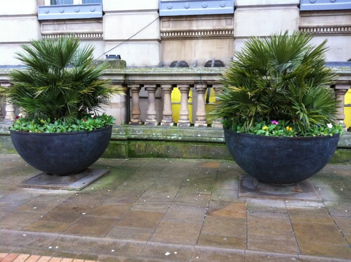 Jardineras ideas para aprovecharlas en terrazas y balcones - Jardineras modernas ...