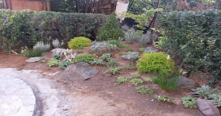 jardines decoración rocallas naturales
