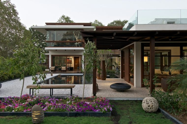 jardín Pranav Parekh Residence