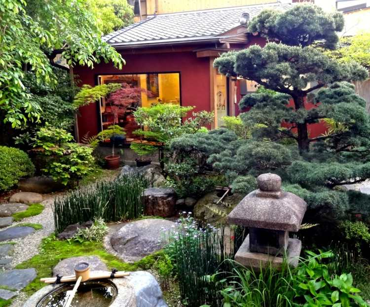 Feng shui en el jard n vs jardines japoneses zen - Fotos jardines japoneses ...
