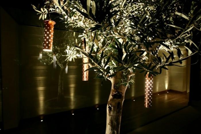 jardines luminarias colores señales complejos luces