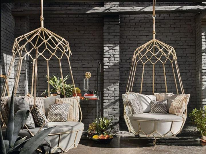 jardines mobiliario contextos elegantes condiciones