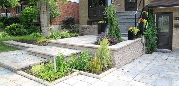 jardines modernos diseños bonitos deco