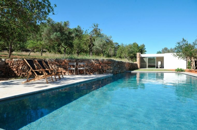 jardines modernos piscina finca moderna ideas