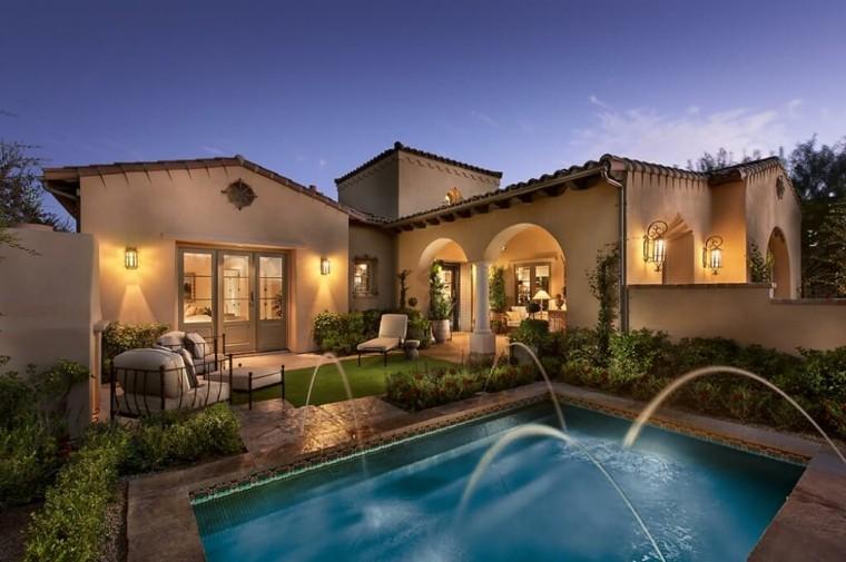 Jardines de casas modernas simple casas de campo hermosas - Patios de casas modernas ...