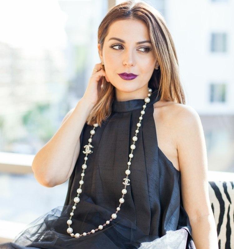 joyas tendencias 2016 perlas blancas clasicas ideas