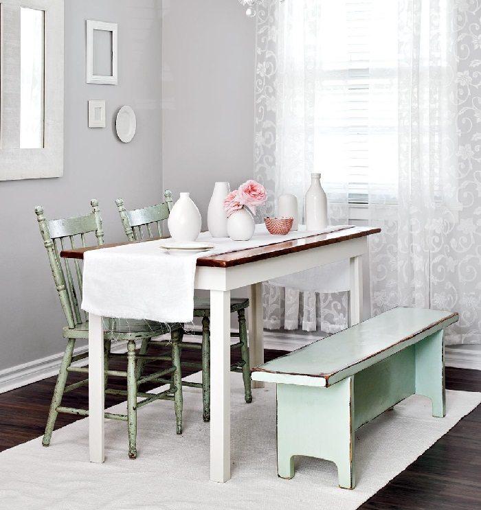 la primavera muebles color verde claro ideas