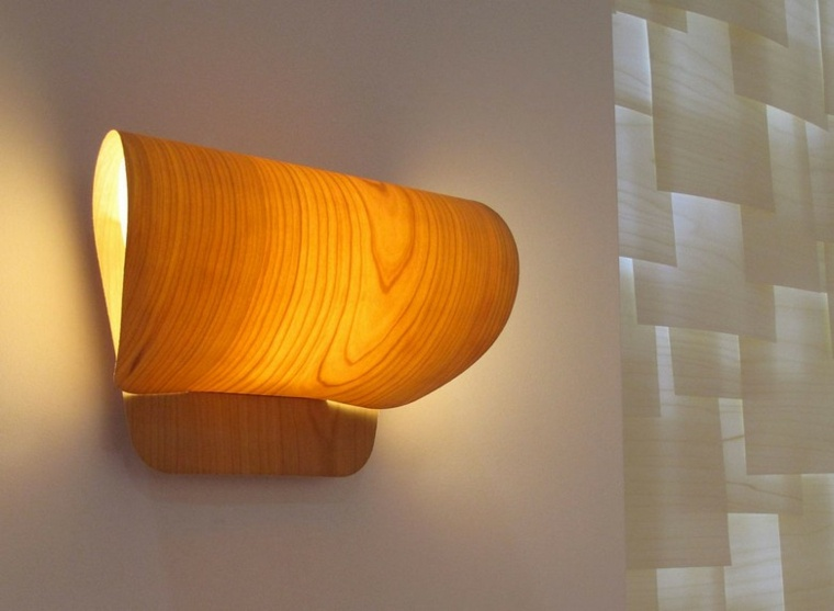 lamparas de pared forma original ideas