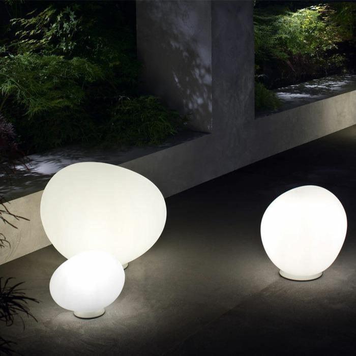 lamparas huevos salones puentes colores
